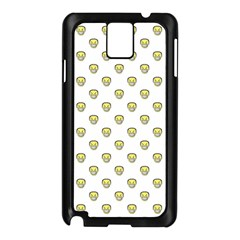 Angry Emoji Graphic Pattern Samsung Galaxy Note 3 N9005 Case (black) by dflcprints