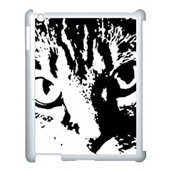Cat Apple Ipad 3/4 Case (white)