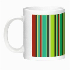 Colorful Striped Background  Night Luminous Mugs by TastefulDesigns
