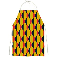 Triangles Pattern       Full Print Apron by LalyLauraFLM