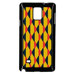 Triangles Pattern Samsung Galaxy Note 4 Case (white) by LalyLauraFLM