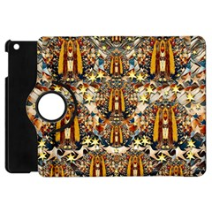 Lady Panda Goes Into The Starry Gothic Night Apple Ipad Mini Flip 360 Case by pepitasart
