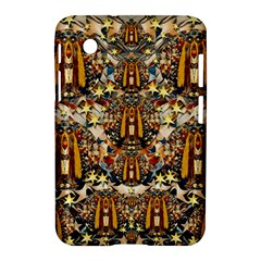 Lady Panda Goes Into The Starry Gothic Night Samsung Galaxy Tab 2 (7 ) P3100 Hardshell Case  by pepitasart