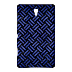 Woven2 Black Marble & Blue Brushed Metal Samsung Galaxy Tab S (8 4 ) Hardshell Case  by trendistuff
