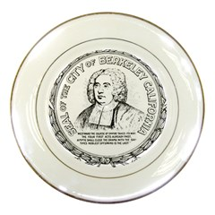 Seal Of Berkeley, California Porcelain Plates by abbeyz71