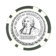 Seal Of Berkeley, California Poker Chip Card Guard by abbeyz71