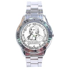 Seal Of Berkeley, California Stainless Steel Analogue Watch by abbeyz71