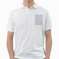 Cute Pastel Butterflies Golf Shirts
