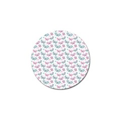 Cute Pastel Butterflies Golf Ball Marker (10 Pack)