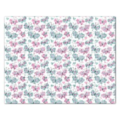 Cute Pastel Butterflies Rectangular Jigsaw Puzzl