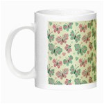 Cute Pastel Butterflies Night Luminous Mugs Left