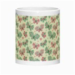 Cute Pastel Butterflies Night Luminous Mugs Center