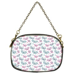 Cute Pastel Butterflies Chain Purses (two Sides)