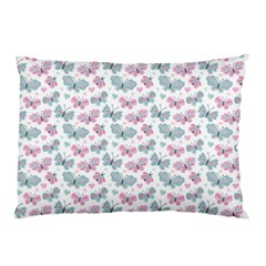 Cute Pastel Butterflies Pillow Case by tarastyle