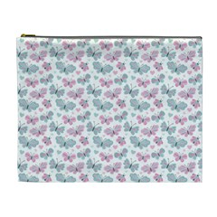 Cute Pastel Butterflies Cosmetic Bag (xl)