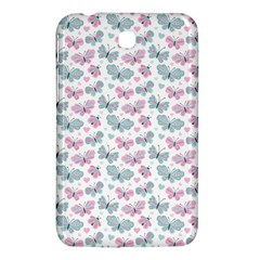 Cute Pastel Butterflies Samsung Galaxy Tab 3 (7 ) P3200 Hardshell Case  by tarastyle