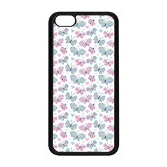 Cute Pastel Butterflies Apple Iphone 5c Seamless Case (black) by tarastyle