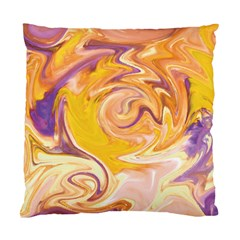 Yellow Marble Standard Cushion Case (two Sides) by tarastyle