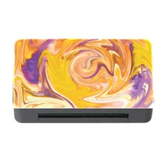 Yellow Marble Memory Card Reader With Cf