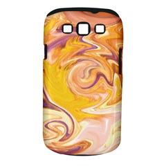 Yellow Marble Samsung Galaxy S Iii Classic Hardshell Case (pc+silicone)