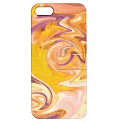 Yellow Marble Apple Iphone 5 Hardshell Case With Stand by tarastyle