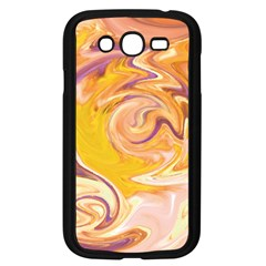 Yellow Marble Samsung Galaxy Grand Duos I9082 Case (black)