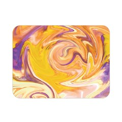 Yellow Marble Double Sided Flano Blanket (mini)