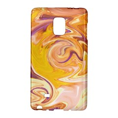 Yellow Marble Galaxy Note Edge by tarastyle