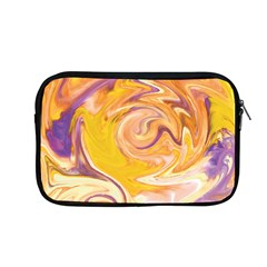 Yellow Marble Apple Macbook Pro 13  Zipper Case