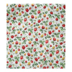 Strawberry Pattern Shower Curtain 66  X 72  (large)  by Valentinaart