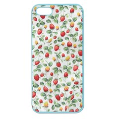 Strawberry Pattern Apple Seamless Iphone 5 Case (color)