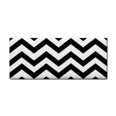 Black And White Chevron Cosmetic Storage Cases
