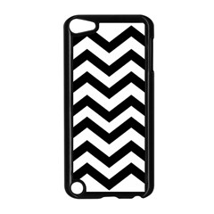 Black And White Chevron Apple iPod Touch 5 Case (Black)
