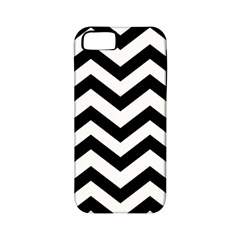 Black And White Chevron Apple iPhone 5 Classic Hardshell Case (PC+Silicone)