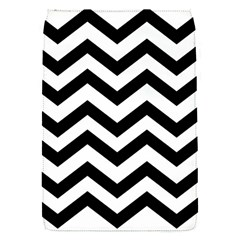 Black And White Chevron Flap Covers (S)