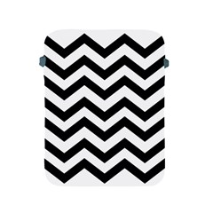 Black And White Chevron Apple iPad 2/3/4 Protective Soft Cases