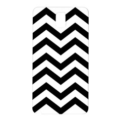 Black And White Chevron Samsung Galaxy Note 3 N9005 Hardshell Back Case