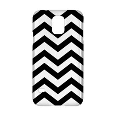 Black And White Chevron Samsung Galaxy S5 Hardshell Case