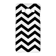 Black And White Chevron Samsung Galaxy A5 Hardshell Case
