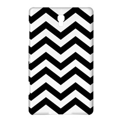 Black And White Chevron Samsung Galaxy Tab S (8.4 ) Hardshell Case