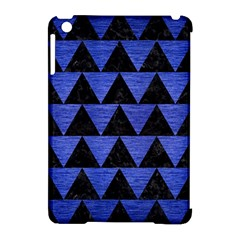 Triangle2 Black Marble & Blue Brushed Metal Apple Ipad Mini Hardshell Case (compatible With Smart Cover) by trendistuff