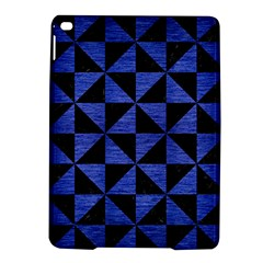 Triangle1 Black Marble & Blue Brushed Metal Apple Ipad Air 2 Hardshell Case by trendistuff