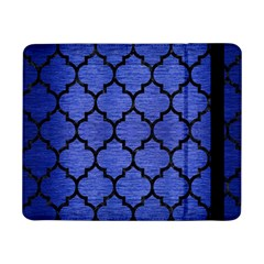 Tile1 Black Marble & Blue Brushed Metal (r) Samsung Galaxy Tab Pro 8 4  Flip Case by trendistuff