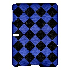 Square2 Black Marble & Blue Brushed Metal Samsung Galaxy Tab S (10 5 ) Hardshell Case  by trendistuff