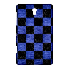 Square1 Black Marble & Blue Brushed Metal Samsung Galaxy Tab S (8 4 ) Hardshell Case  by trendistuff