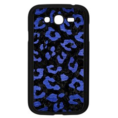 Skin5 Black Marble & Blue Brushed Metal (r) Samsung Galaxy Grand Duos I9082 Case (black) by trendistuff