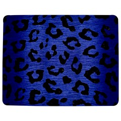 Skin5 Black Marble & Blue Brushed Metal Jigsaw Puzzle Photo Stand (rectangular) by trendistuff
