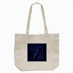 Skin3 Black Marble & Blue Brushed Metal Tote Bag (cream)