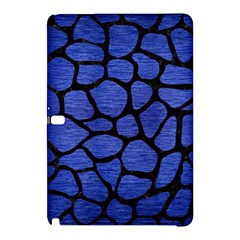 Skin1 Black Marble & Blue Brushed Metal Samsung Galaxy Tab Pro 12 2 Hardshell Case by trendistuff