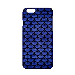 Scales3 Black Marble & Blue Brushed Metal (r) Apple Iphone 6/6s Hardshell Case by trendistuff